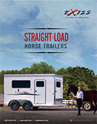 Exiss Straight Load Horse Trailer Brochure