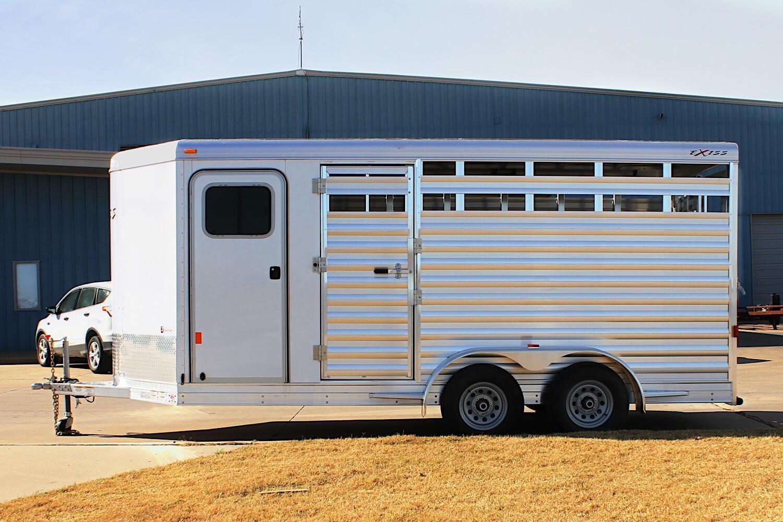 Bumper Pull Livestock Trailers Stc 616 Bp Exiss