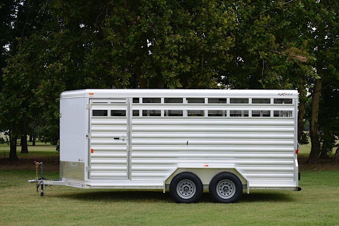 Bumper Pull Livestock Trailers Stk 713 Bp Stk 716 Bp
